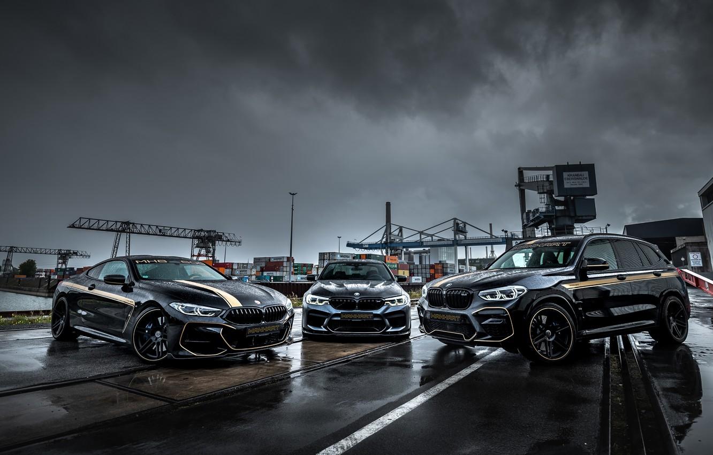 Фото обои BMW, Manhart, M5, 8-Series, F90, 2019, X3M, G01, G15, M850i, MH8 600, MH5 800, MHX3 …