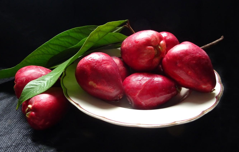 Фото обои еда, фрукт, Малайское яблоко