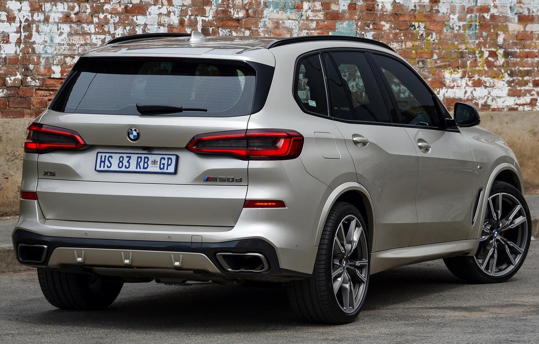 Фото обои car, серый, BMW, фонари, сзади, BMW X5M, BMW X5M 2019, X5 M50d