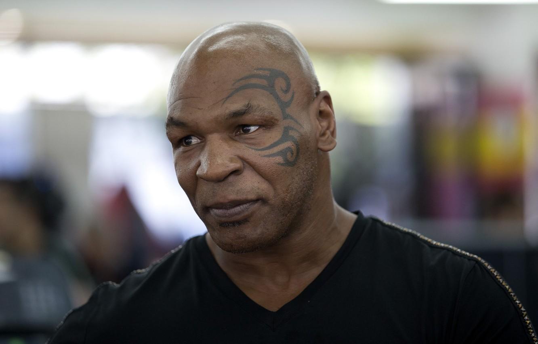 Фото обои взгляд, тату, актер, боксер, Mike Tyson, Майк Тайсон, Michael Gerard Tyson