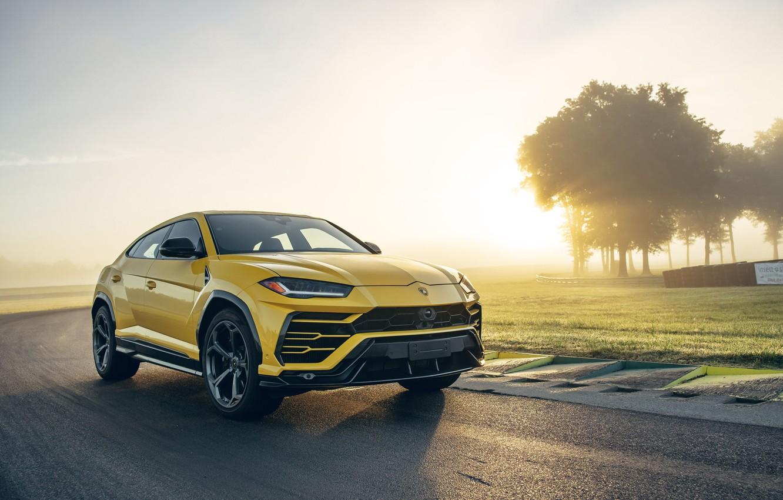 Фото обои Lamborghini, кроссовер, Urus, 2019