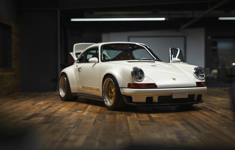 Фото обои White, Custom, Sportcar, Porsche 930
