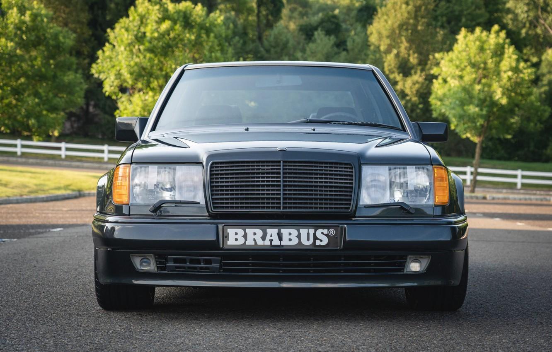 Фото обои BRABUS, E50, W124, 500E, Mercedec - Benz