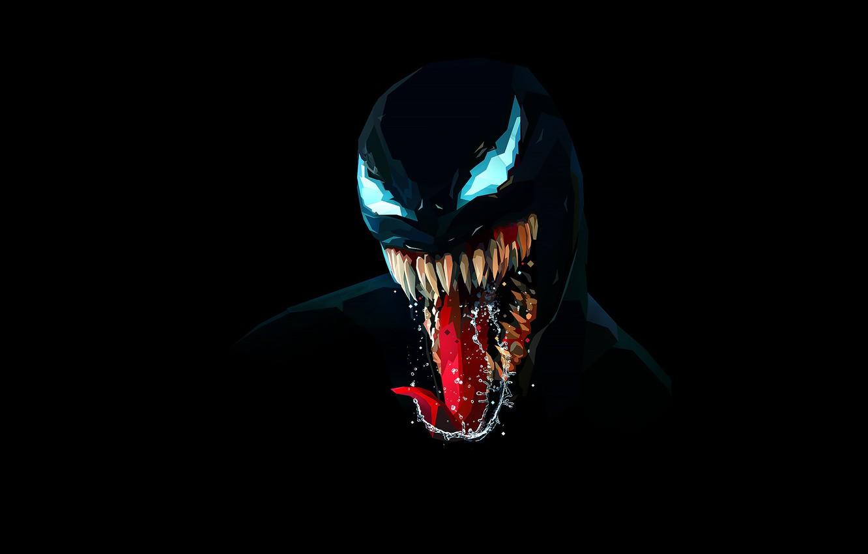 Фото обои Язык, Зубы, Art, Comics, MARVEL, Concept Art, Веном, Venom, Symbiote, MARVEL Comics, Comic Art, Comics …