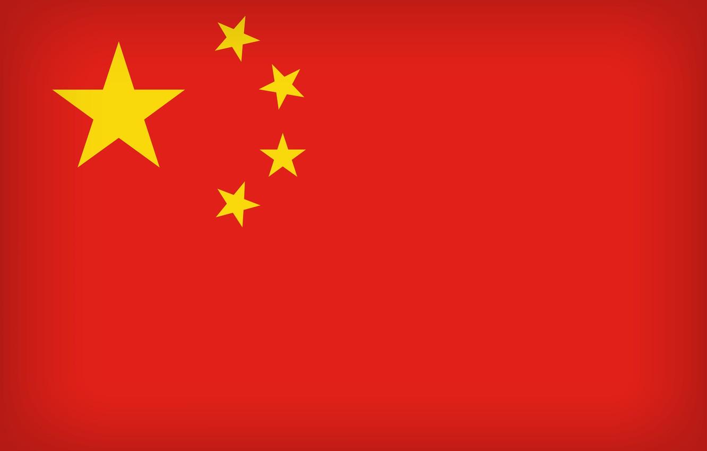 Фото обои China, Flag, Chinese, PRC, Chinese Flag, East Asia, Flag Of China