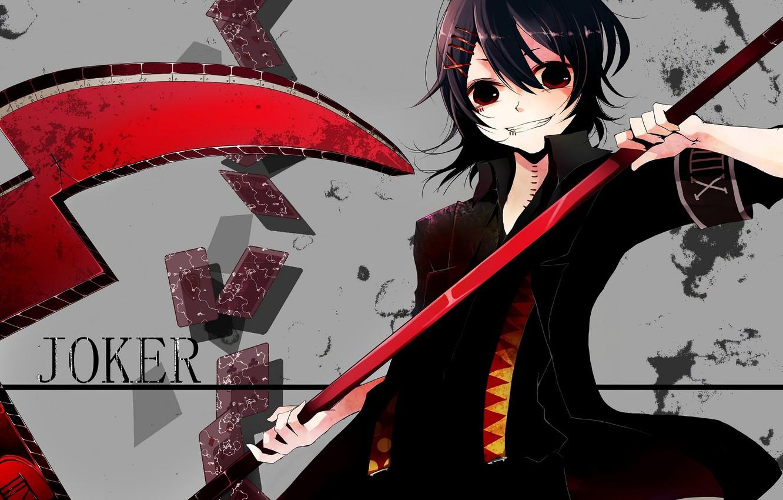 Фото обои оружие, аниме, коса, парень, Tokyo Ghoul, Токийский гуль