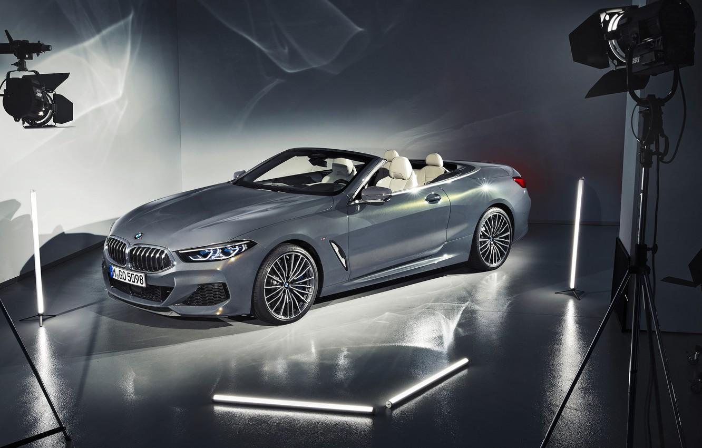 Фото обои BMW, кабриолет, 2018, Cabrio, xDrive, 8-Series, M850i