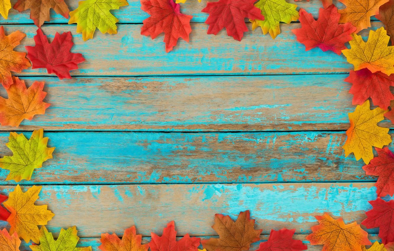 Фото обои осень, листья, фон, дерево, colorful, vintage, wood, background, autumn, leaves, maple