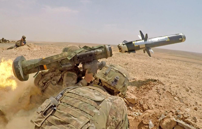 Фото обои оружие, армия, солдаты, javelin