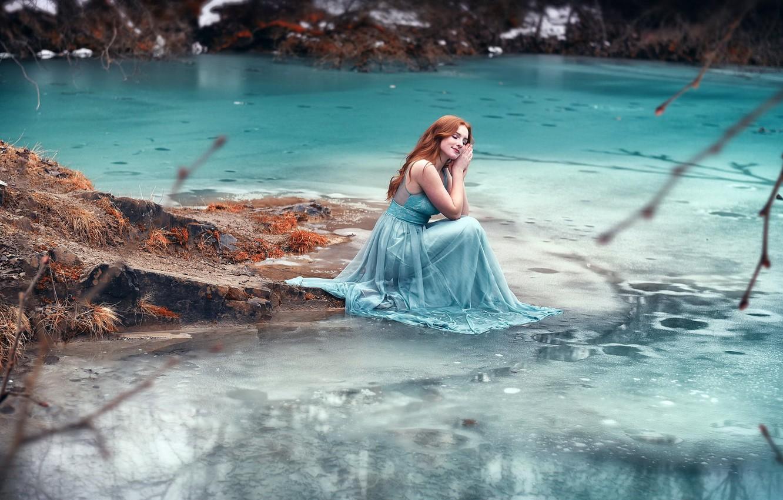 тесто делят фотосессия на берегу реки холод лиственницы здесь есть