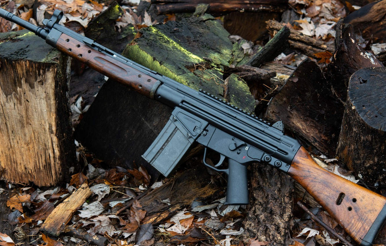 Фото обои оружие, Автомат, Gun, weapon, Штурмовая винтовка, Assault Rifle, Heckler-Koch HK G36, G3A3, Heckler-Koch, Хеклер-Кох