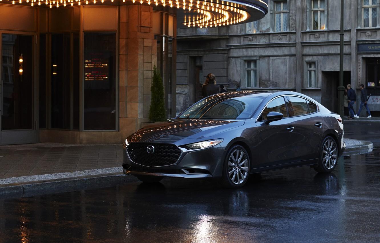 Фото обои Mazda, Mazda 3, 2020