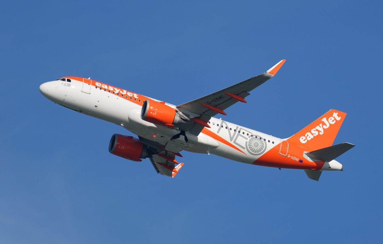 Фото обои Airbus, A320-214, EasyJet Airline