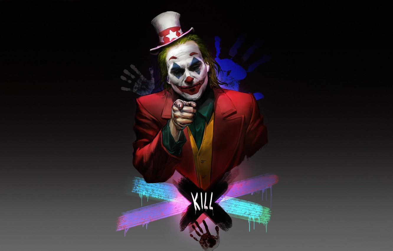 Фото обои Минимализм, Джокер, Joker, Concept Art, DC Comics, Minimalism, Персонаж, Character, Comic Art, DC Art, by …