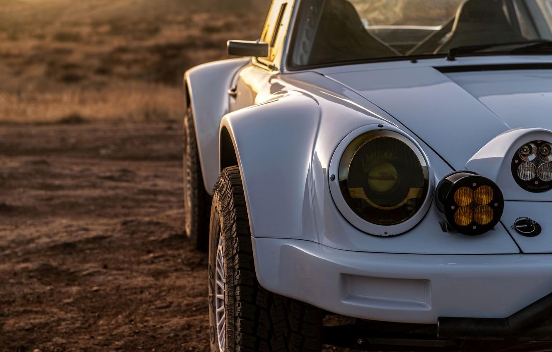 Фото обои 911, Porsche, перед, бампер, 964, 2019, 911 Baja Prototype, Russell Built Fabrication