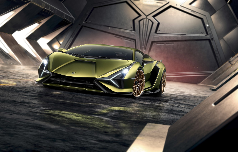 Фото обои машина, Lamborghini, Sián