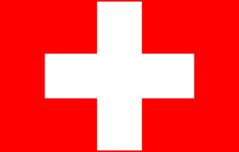 Фото обои красный, крест, флаг, red, швейцария, cross, fon, flag, switzerland