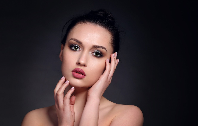 Лицо с макияжем картинки