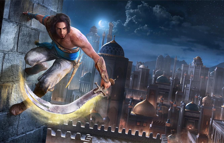 Фото обои Prince of Persia, Ubisoft, Принц Персии, Remake, Prince of Persia - The Sands of Time …