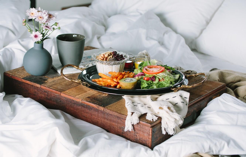 Завтрак в кровать картинки