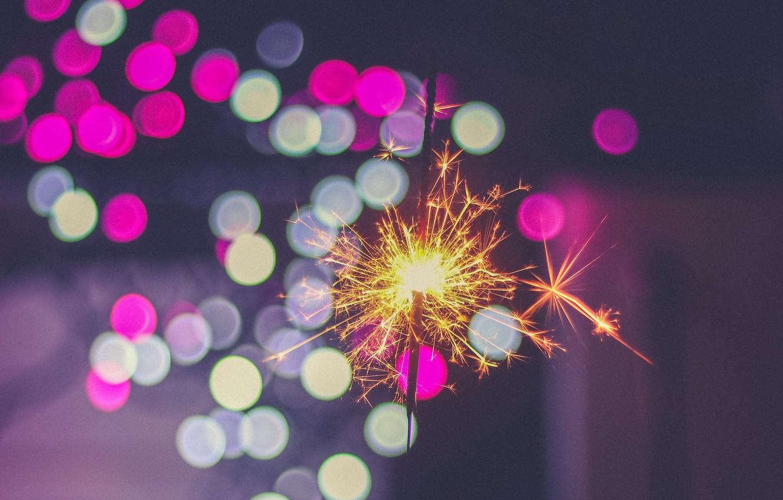 Обои искры, бенгальский огонь, sparkler. Разное foto 10