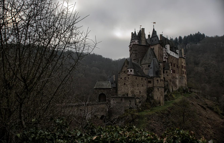 мрачный замок фото красиво модно