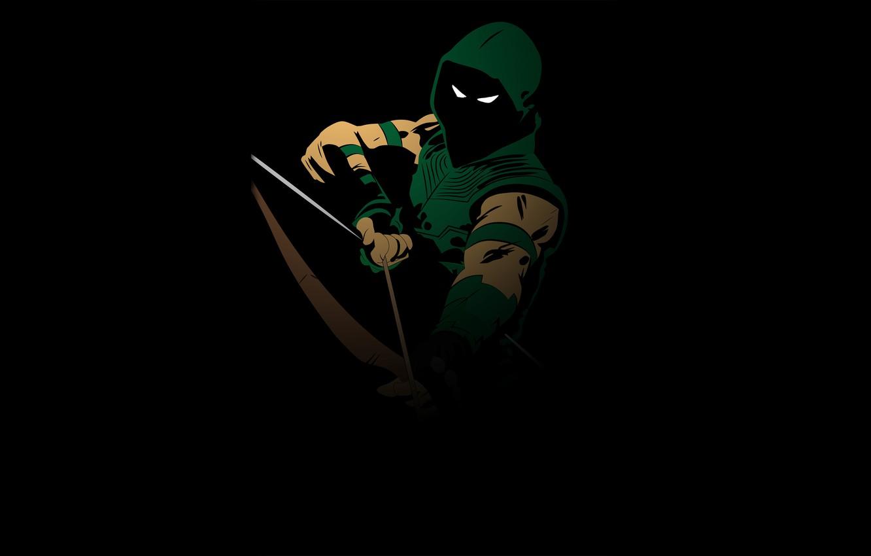 Фото обои Art, Green Arrow, Oliver Queen, Comics DC, Emerald Archer