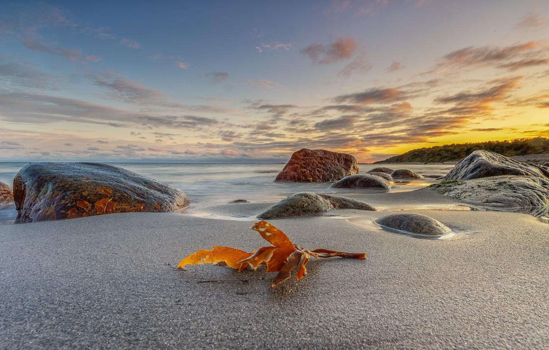 Фото обои камни, побережье, Норвегия, Raet National Park