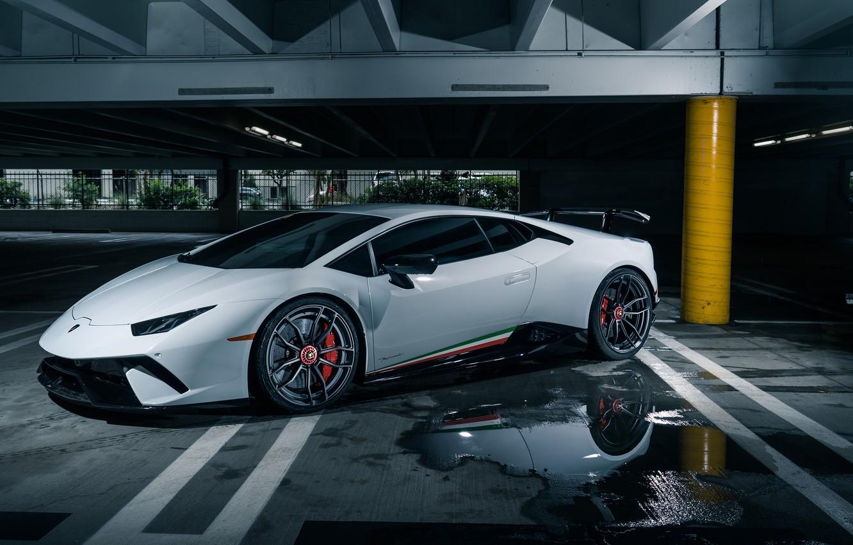 Фото обои Lamborghini, Huracan, Lamborghini Huracan
