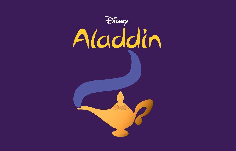 Фото обои лампа, джин, аладдин, Aladdin, дисей
