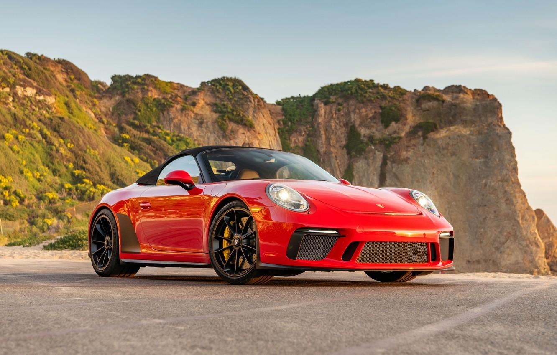 Фото обои 911, Porsche, Speedster, 2019