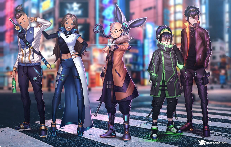 Фото обои Avatar, Аватар, Киберпанк, Cyberpunk, 2021, Анк