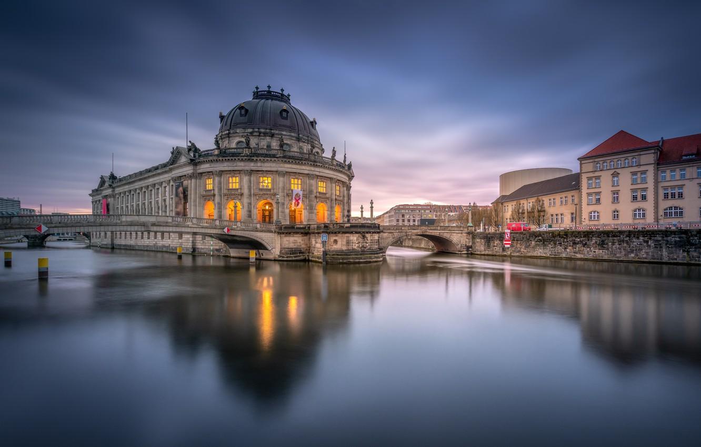 Обои museum, bode, berlin. Города foto 10