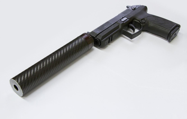 Фото обои Пистолет, Глушитель, Новый пистолетный комплекс «Удав»