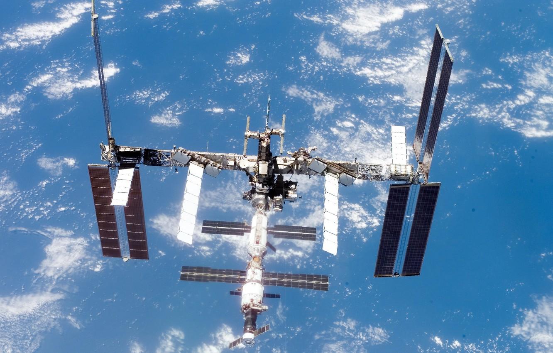 Фото обои space, NASA, International Space Station, Space Shuttle Atlantis