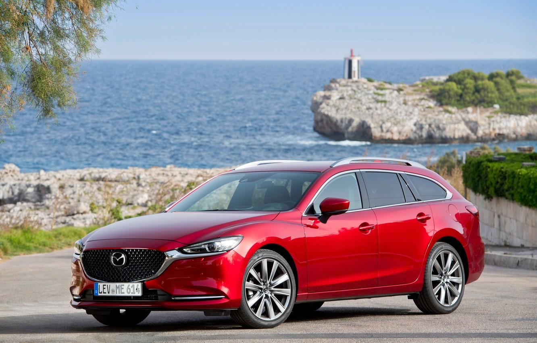Фото обои Mazda, Mazda 6, Wagon, 2018-19