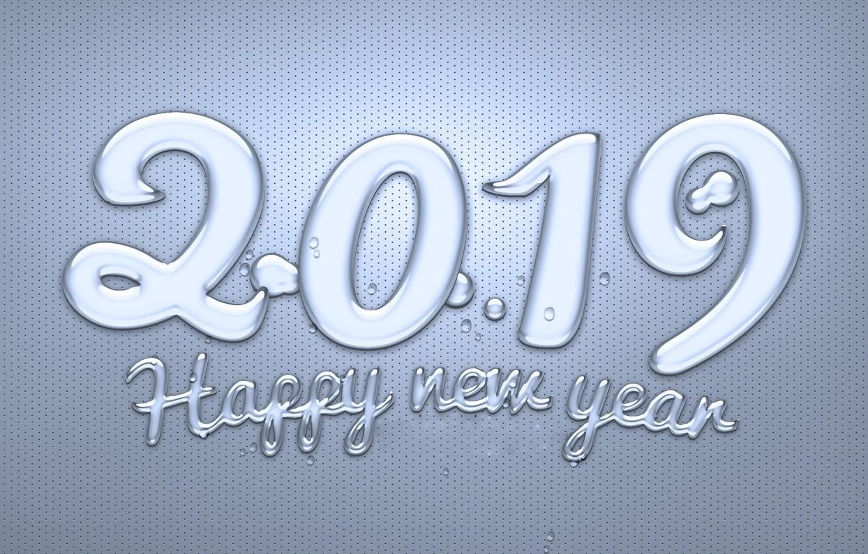 Фото обои Новый год, New Year, 2019