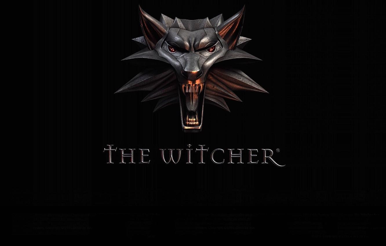 Фото обои стиль, фон, волк, пасть, медальон, оскал, the witcher, амулет, ведьмак, wolf, witcher, CDProjekt RED, CD …