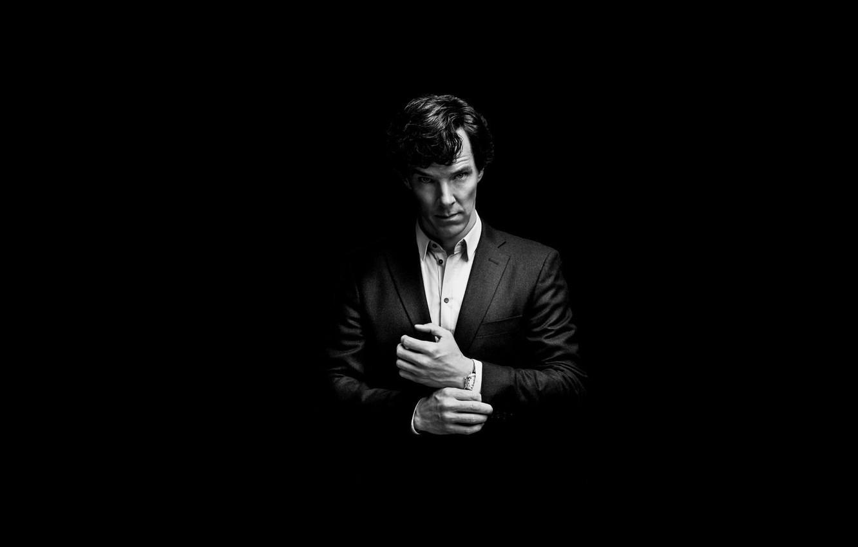 Фото обои фон, минимализм, чёрный фон, Бенедикт Камбербэтч, Benedict Cumberbatch, Sherlock, Sherlock BBC, Sherlock Holmes, Sherlock (сериал)