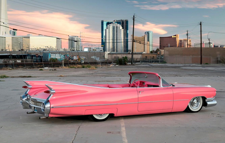 Фото обои Pink, Style, Cadillac Eldorado