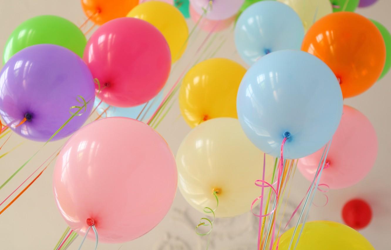 Фото обои лето, счастье, воздушные шары, отдых, colorful, summer, happy, balloon