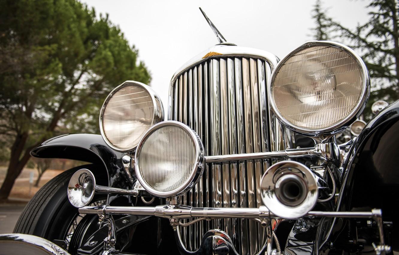 Фото обои Duesenberg, ретро автомобиль, уникальный автомобиль, 1934 Duesenberg J 295/2531 Town Car LWB by Murphy, старый …