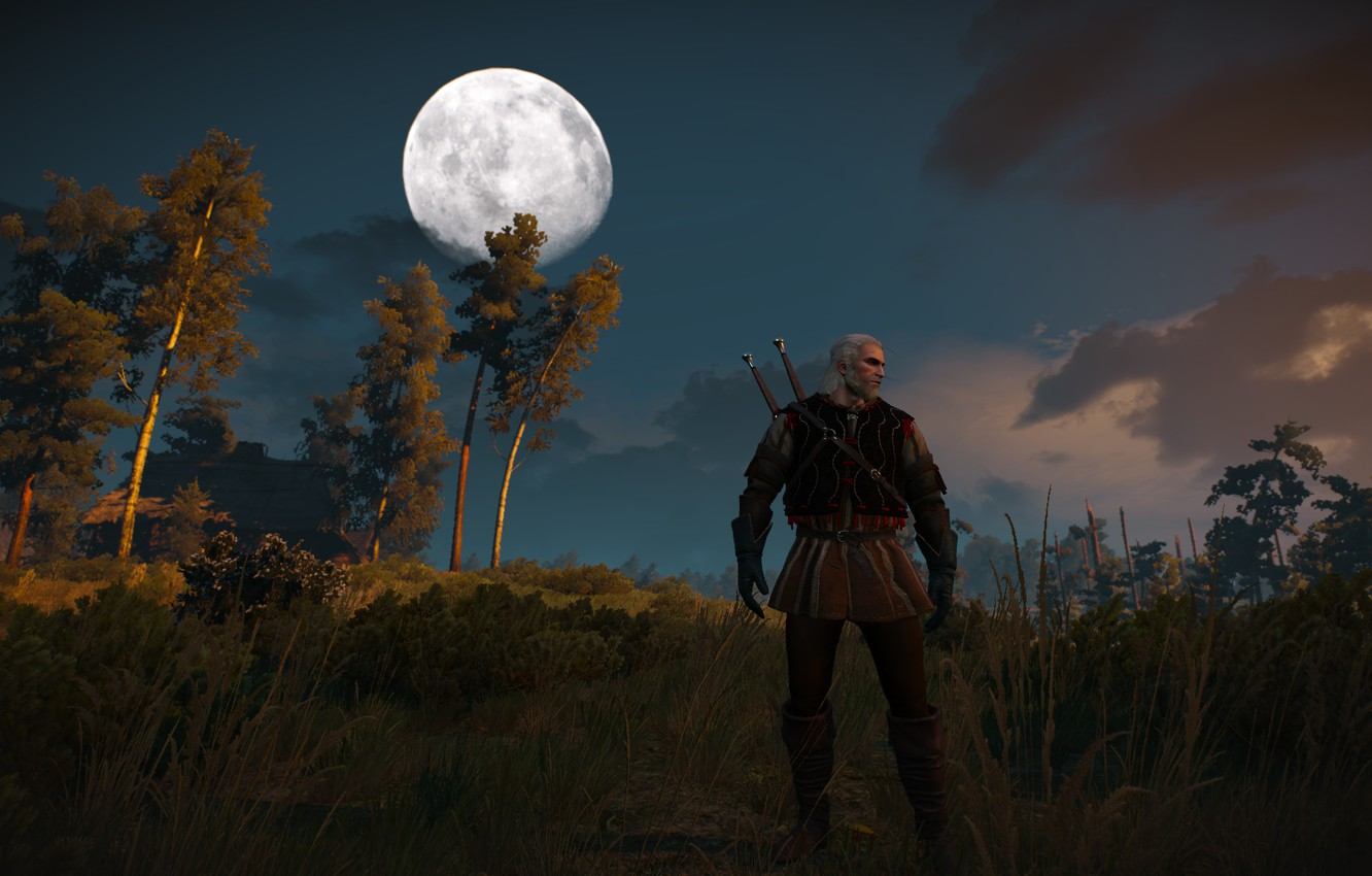Фото обои Witcher, Witcher 3 Wild Hunt, Geralt from Rivia