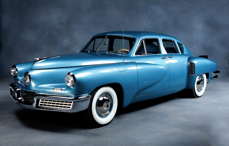 Фото обои машина, автомобиль, седан, sedan, ретро автомобили, Tucker Sedan 1948