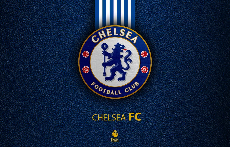 Фото обои wallpaper, sport, logo, football, Chelsea, English Premier League