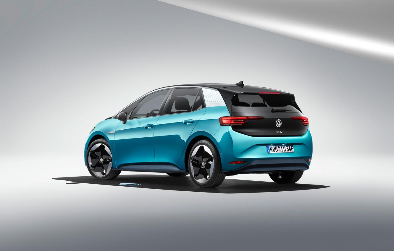 Фото обои Volkswagen, 2020, Worldwide, ID.3, 1ST