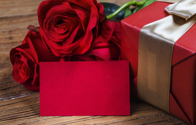 Фото обои любовь, цветы, подарок, розы, red, love, romantic, valentine's day, gift, roses