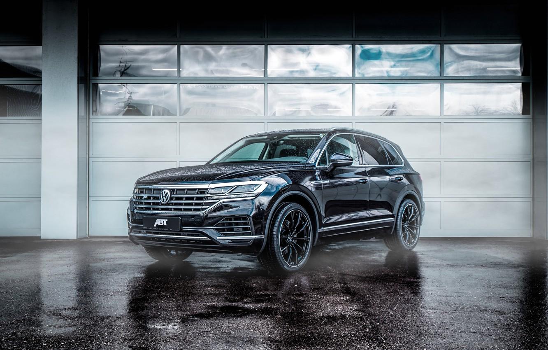 Фото обои Volkswagen, 2018, ABT, Volkswagen Touareg