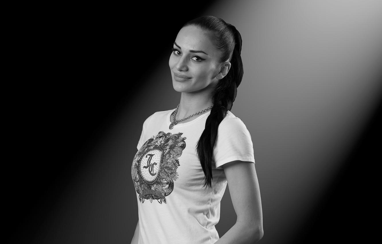 Фото обои модель, Дина Бекоева, осетинка