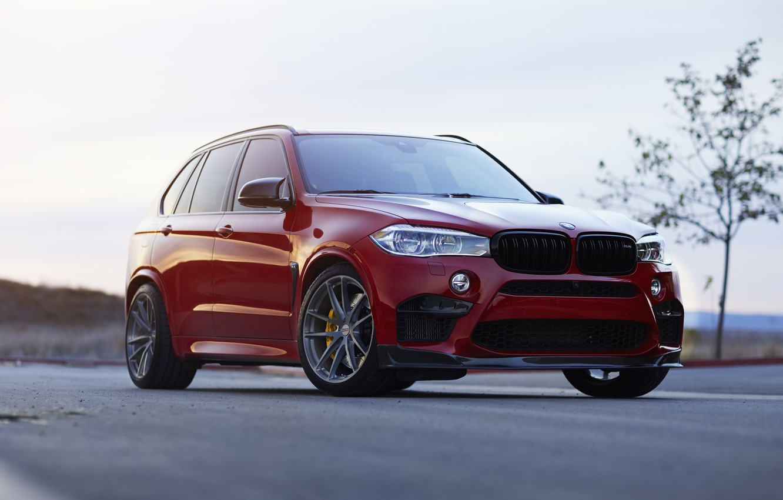 Фото обои BMW, Predator, RED, X5M, Sight, F85